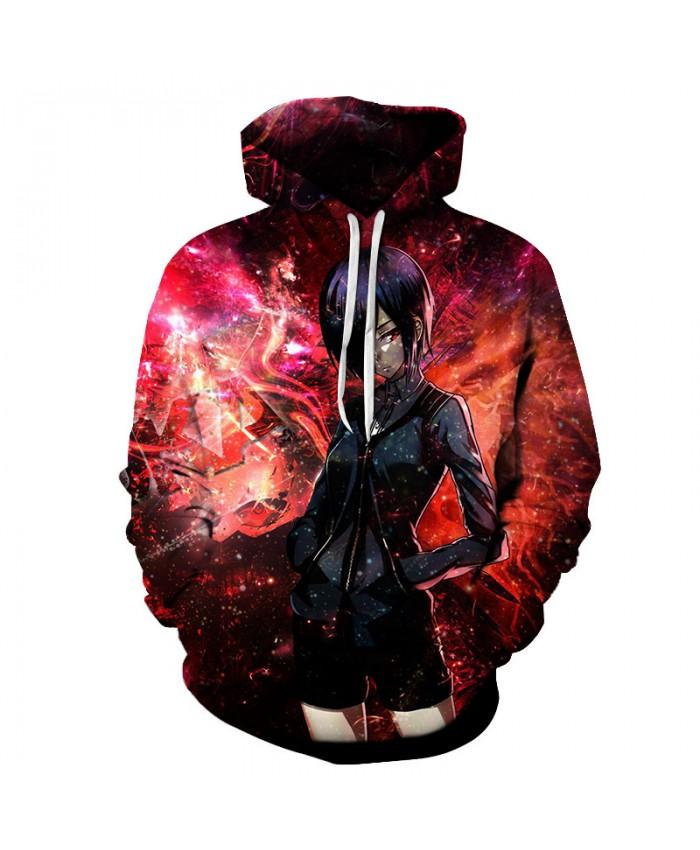 Tokyo Ghoul 3D Hoodies Unisex Sweatshirt Men Brand Hoodie Comic Casual Tracksuit Pullover DropShip Streetwear Hip Hop Hoodie