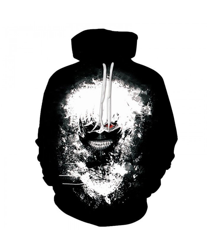 Tokyo Ghoul Hoodies Anime 3D Hooded Sweatshirts Newest Kids Teens Fashion Cosplay Hoodies Outerwear Spring Cool Coat B