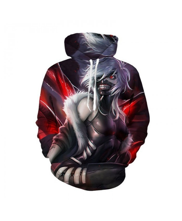 Tokyo Ghoul Hoodies Anime 3D Hooded Sweatshirts Newest Kids Teens Fashion Cosplay Hoodies Outerwear Spring Cool Coat F