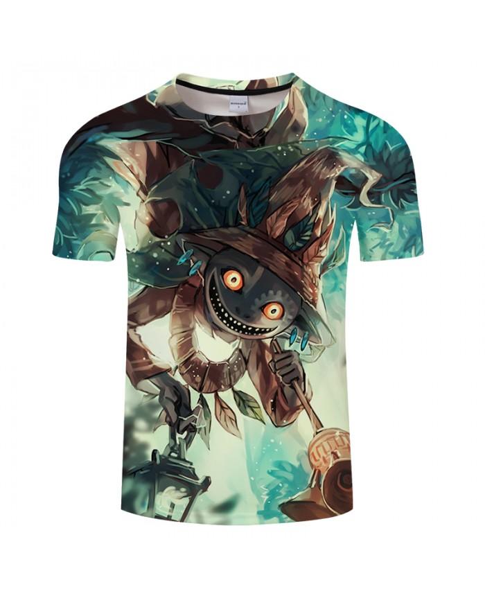 Totoro&Forest 3D Print t shirt Men Women tshirt Summer Anime Short Sleeve O-neck Tops&Tee Camisetas Fresh Drop Ship