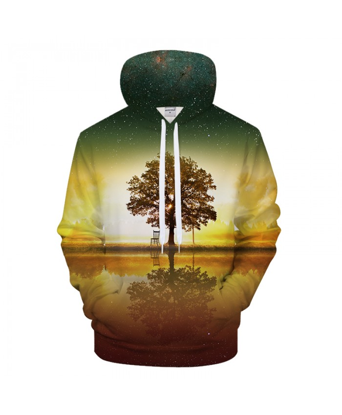 Tree Hoodies Men Women Hoody 3D Sweatshirts Autumn Tracksuit Casual Coat Streatwear Pullover Unisex Shadow Drop ship