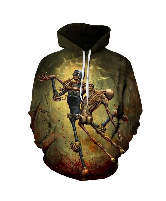 Two Hoes Dance 3D Printed Mens Pullover Sweatshirt Clothing for Mens Custom Pullover Hoodie Streetwear Sweatshirt