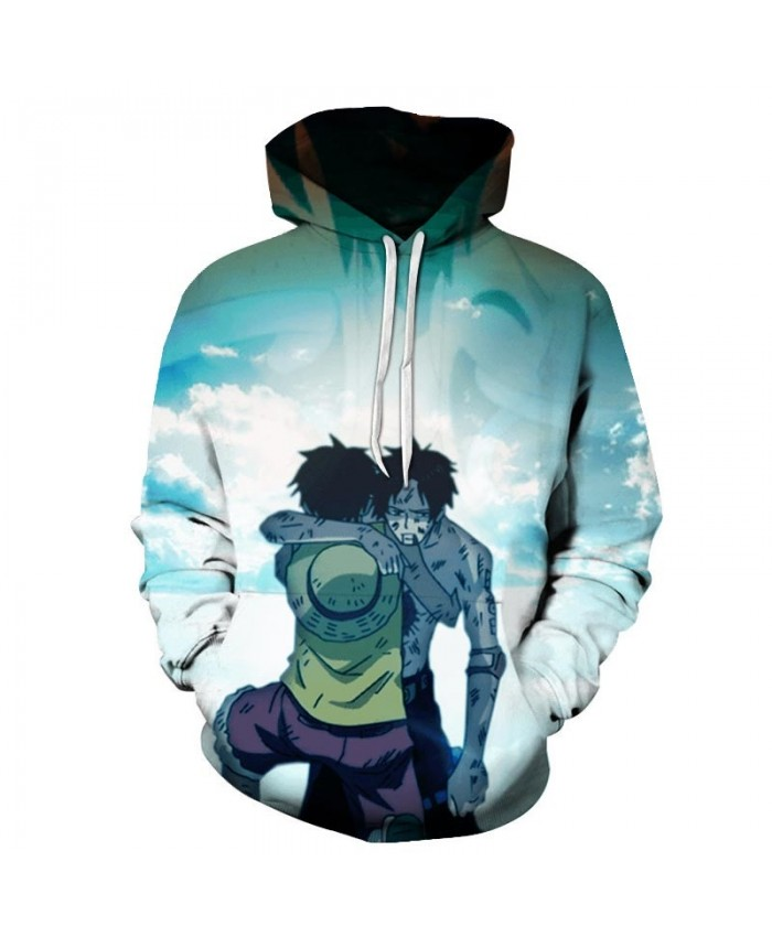 Two People Hugging One Piece 3D Hoodies Mens Pullover Sweatshirt Fashion Men Hoodies Pullover Casual Hoodie Men