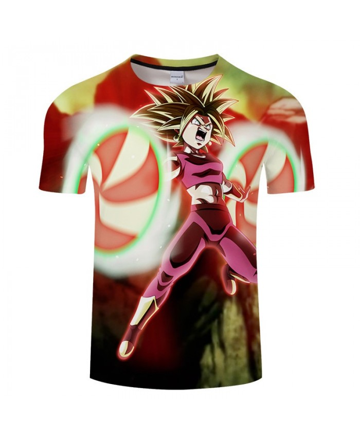 Two Winds And Rings Cartoon Goku Dragon Ball 3D Print Men tshirt Anime Casual Short Sleeve Male O-neck Drop Ship