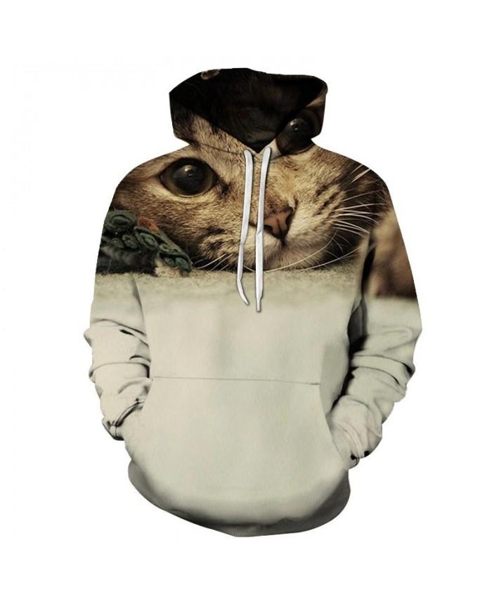 Underarm Cat 3D Printed Mens Pullover Sweatshirt Pullover Casual Hoodie Men Streetwear Sweatshirt Tracksuits Hoodies