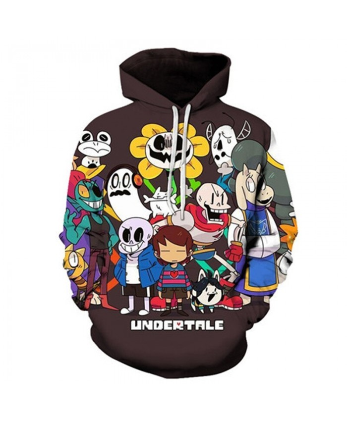 Undertale 3D Printed Mens 2019 New Pullover Sweatshirt Fashion Men Hoodies for Men Custom Pullover Hoodie Streetwear