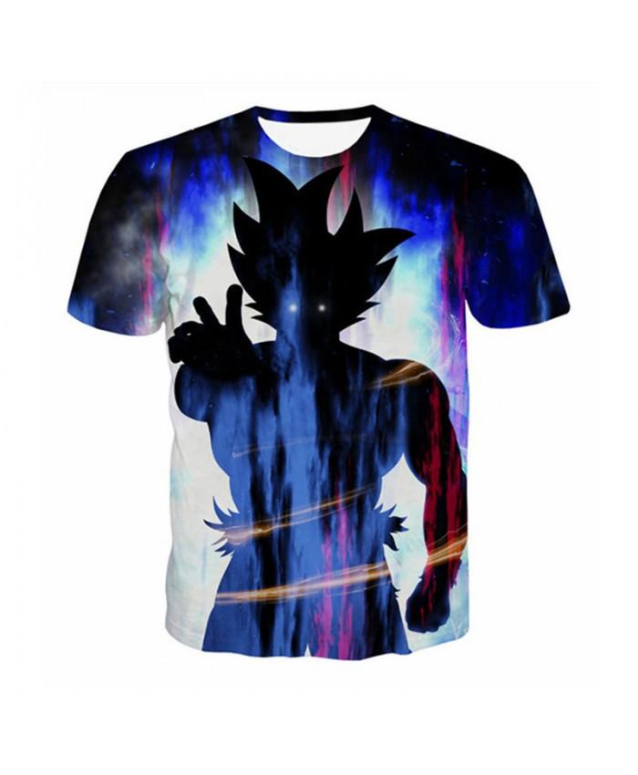 Unisex Men Women Dragon Ball T Shirt 3D Vegeta Kids Goku Print Hot Anime Tee Shirt Cartoon Casual Summer Tops Tees Teen Tshirt C