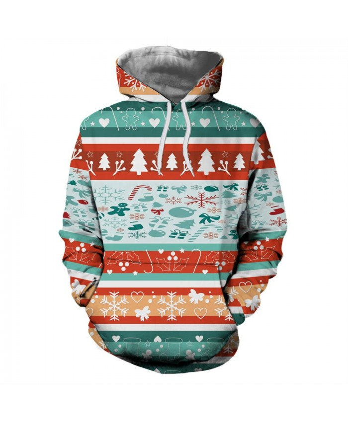 Various Christmas Patterns Christmas Hoodies 3D Sweatshirts Men Women Hoodie Print Couple Tracksuit Hooded Hoody Clothing