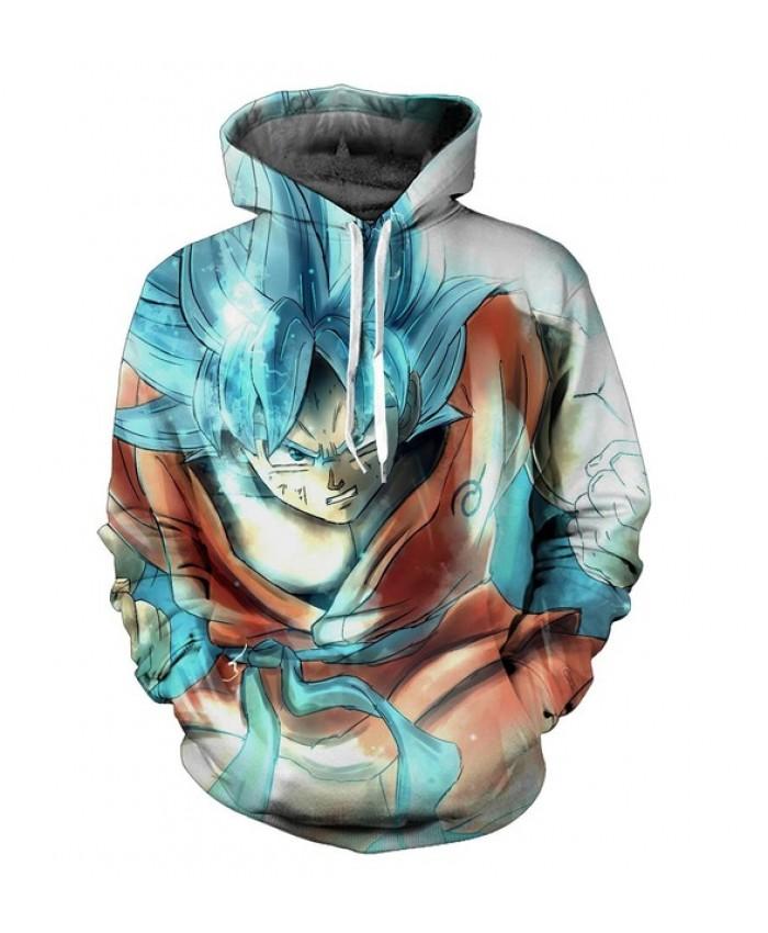 Vegetto Dragon Ball Z Hoodies 3d Pullovers Sportswear Hooded Sweatshirts Mens Sleeve Son Goku Hoode Dragon Ball Z S-6XL C