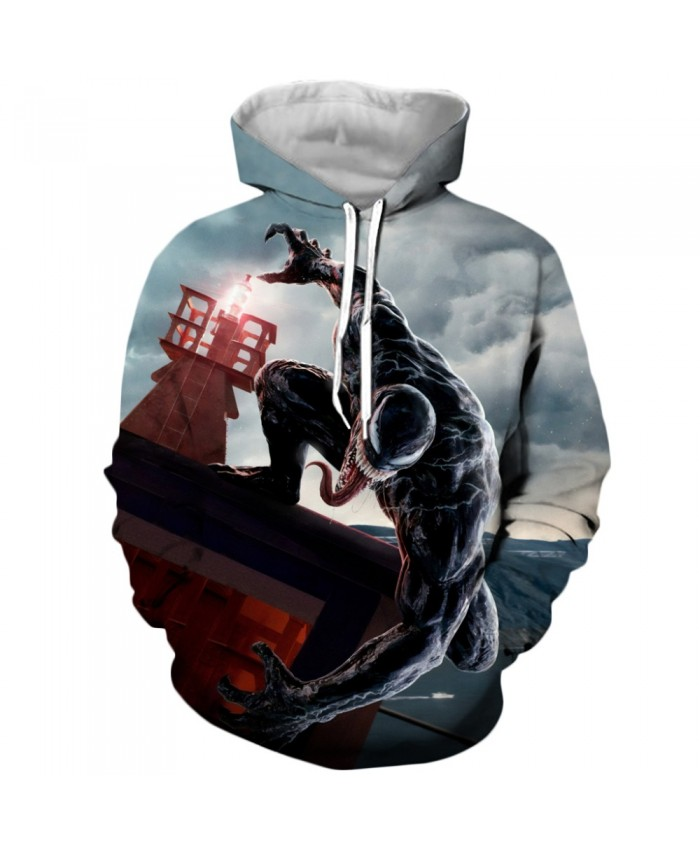 Venom Hoodies Men Women Sweatshirts 3D Printed Hoodie Hip Hop Pullover Hooded Casual Streetwear Tops F