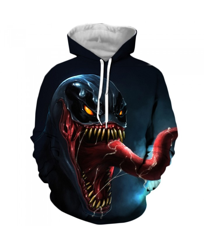 Venom Hoodies Men Women Sweatshirts 3D Printed Hoodie Hip Hop Pullover Hooded Casual Streetwear Tops G
