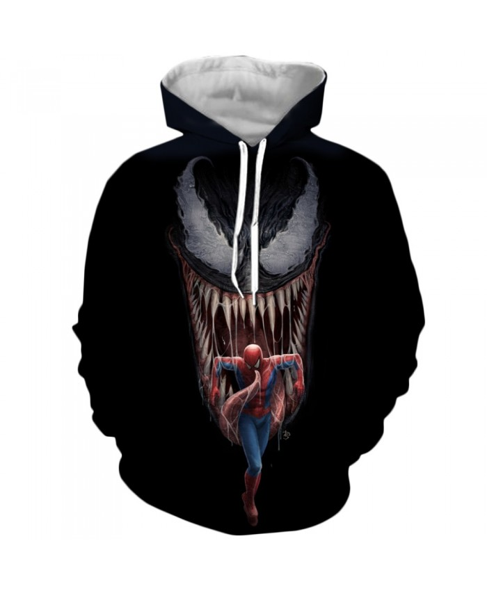 Venom Hoodies Men Women Sweatshirts 3D Printed Hoodie Hip Hop Pullover Hooded Casual Streetwear Tops I