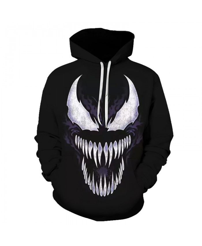 Venom Hoodies Women Men 3D Sweatshirts Marvel movie Pullover Tracksuit Fashion Hooded Streetwear Autumn Casual print Hoodie