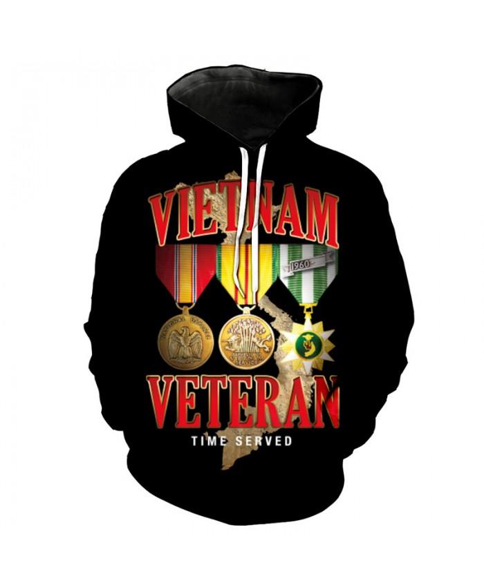 Vietnam Veteran The Highest Honor Fashion Hoodies Sweatshirt