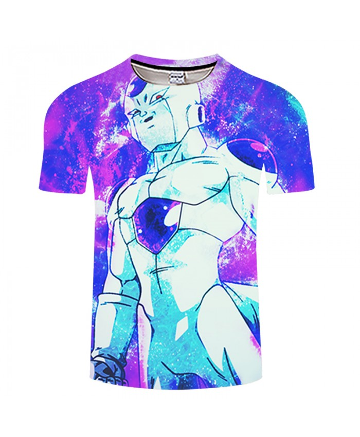 Warrior 3D Print T shirt Men Women Summer Anime Streetwear Dragon Ball Boys Tops&Tees Tshirts Vegeta Drop Ship