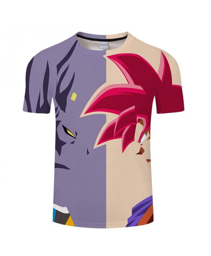 Watching Cartoon Goku Dragon Ball 3D Print Men tshirt Casual Summer 2019 New tshirt Short Sleeve Male Drop Ship