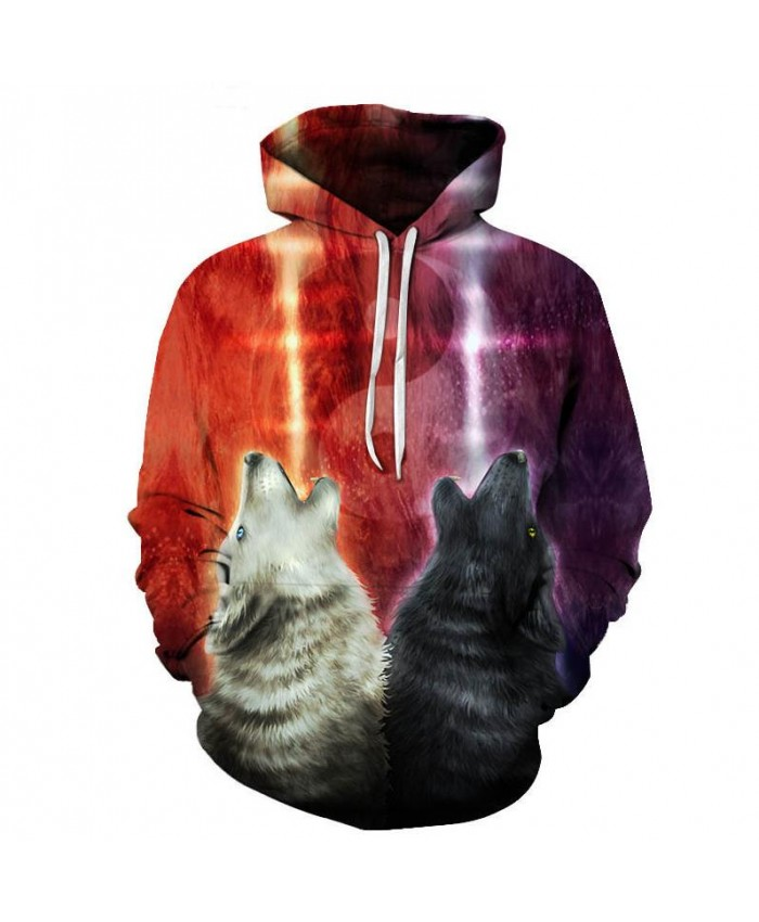 We wanna let the world know by KhaliaArt Art Wolf Hoodies 3D Sweatshirts Men Hoody Streetwear Tracksuit 6XL Pullover