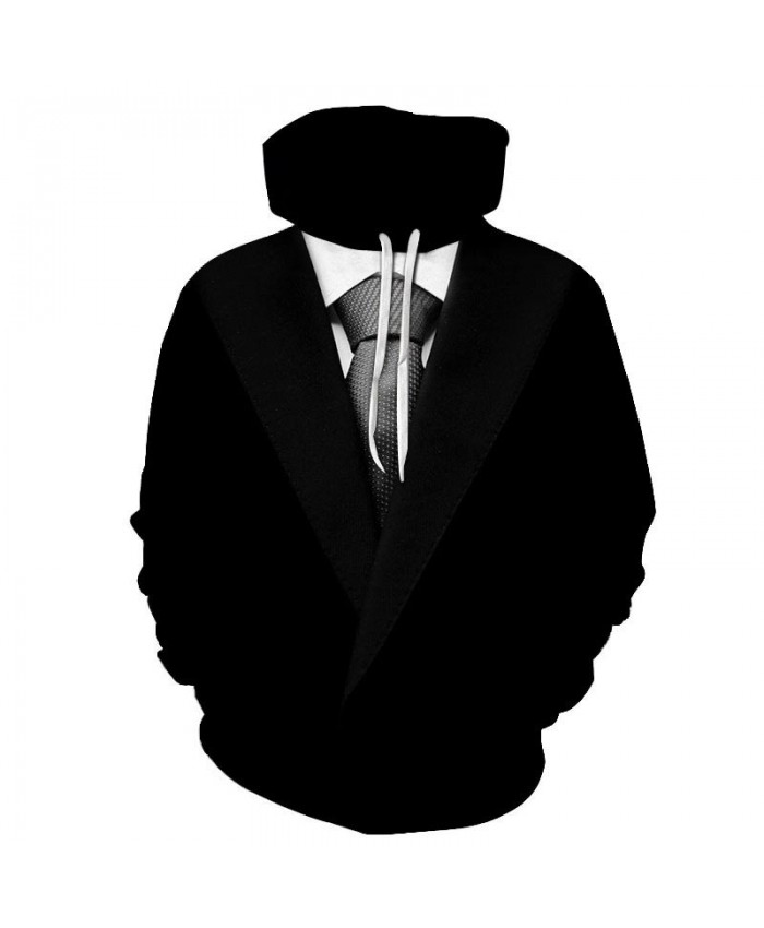White Dots Tie 3D Print Men Pullover Sweatshirt Clothing for Men Casual Hoodie Men Streetwear Sweatshirt Fashion