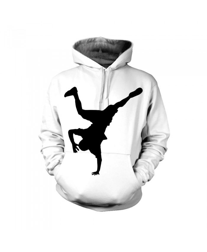 White Hip Hop Hoodie Clothing 2021 Spring Autumn Male Casual Hip Hop Dance Belt Costume Hoodies Sweatshirts