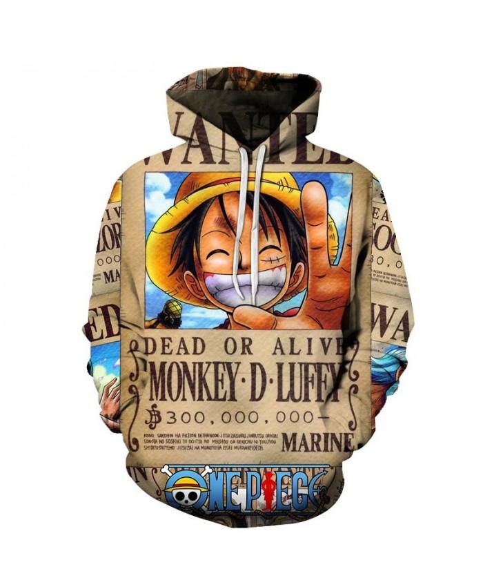 White Teeth One Piece 3D Hoodies Mens Pullover Sweatshirt Fashion Men Hoodies Pullover Tracksuits Hoodie Anime Men