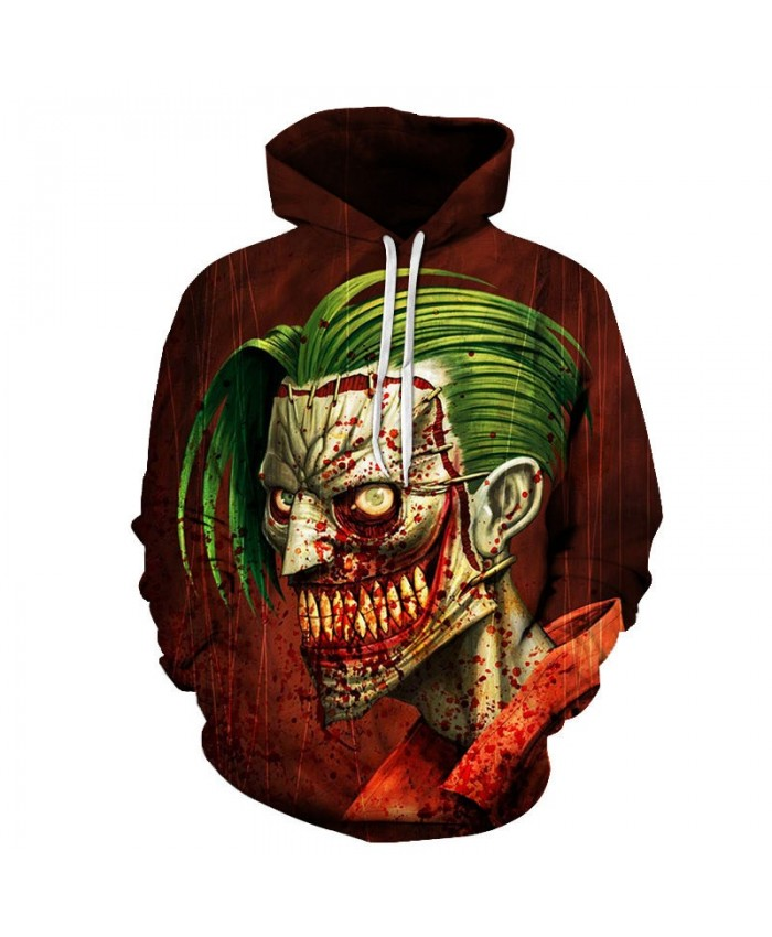 Whole Body Blood Spot 3D Printed Mens Pullover Sweatshirt Clothing for Mens Custom 2019 Pullover Hoodie Streetwear