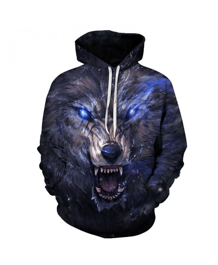 Wolf Hoodies 3D Men Hoodie Sweatshirts Unisex Hoodie Fashion Tracksuits Autumn Winter Pullover Brand Streetwear Animal Prints