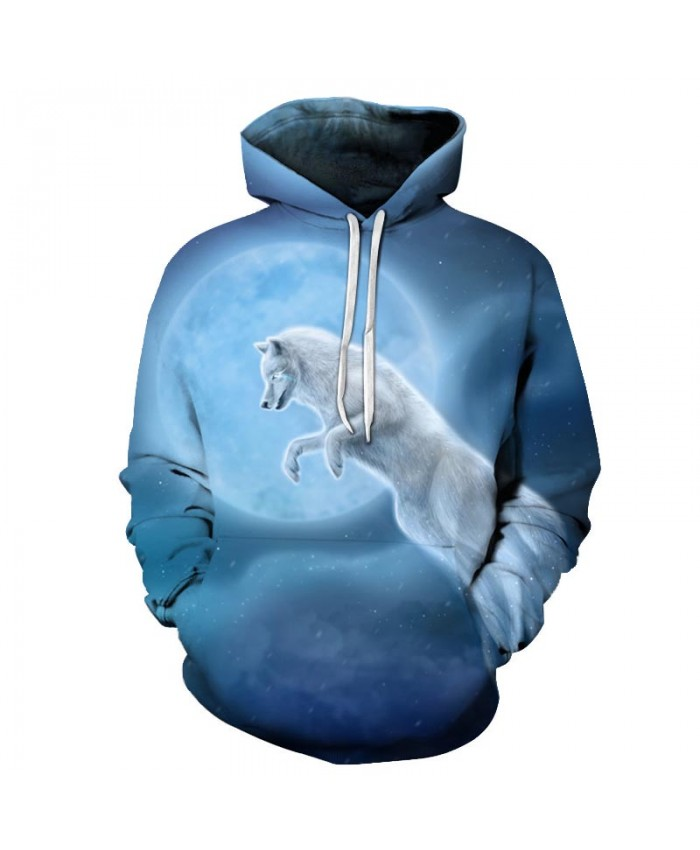 Wolf Hoodies 3D Sweatshirts Men Women Hooded Pullover Unisex Casual Tracksuits 6xl Plus Male Coats Fashion Outwear