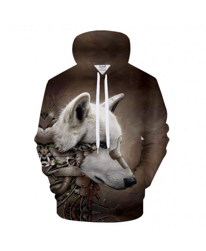 Wolf Hoodies Men Women Hooded Sweatshirts Men Clothes 2021 Tracksuit Funny Coat Streetwear 3d Pullover Drop Ship