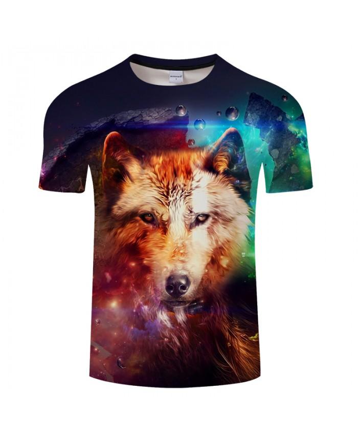 Wolf Print 3D T shirts Men Women tshirts Summer Casual Short Sleeve O-neck Tops&Tees 2018 Camisetas Unisex Drop Ship