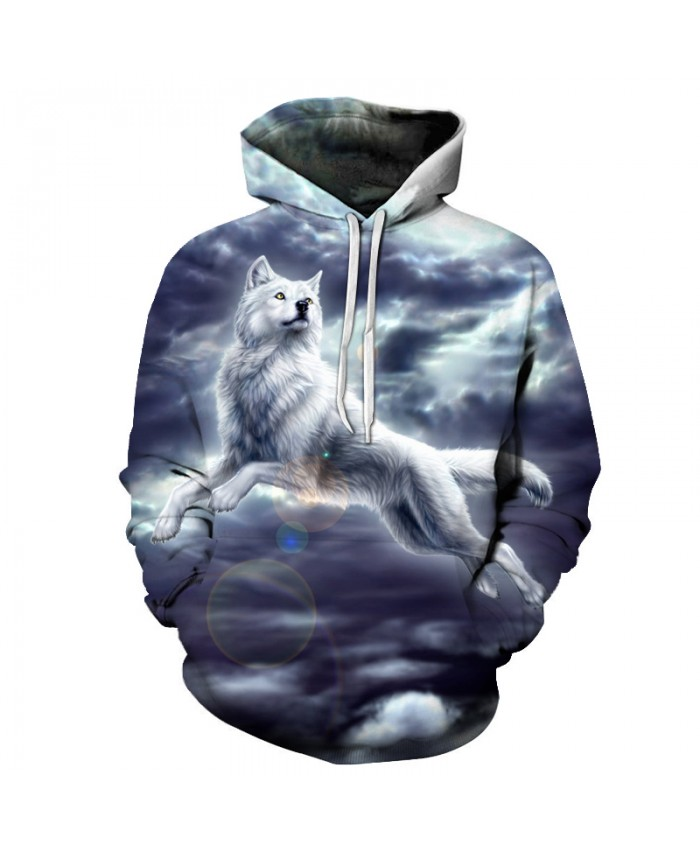 Wolf Printed Men 3d Sweathsirts Animal Hoodies Boy Pullovers Unisex Tracksuit Brand Outwear Quality 6XL Male Coat Hooded Jakcet
