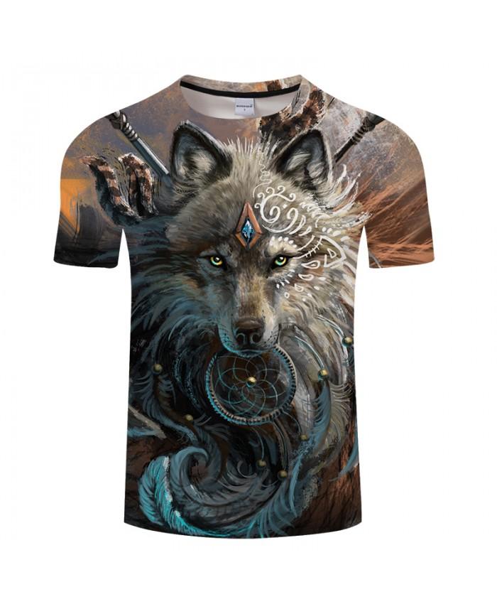 Wolf Warrior by SunimaArt 3D T shirts Men T-shirts New Design Drop Ship Tops Tees Short Sleeve Tshirt Camiseta Summer Animal