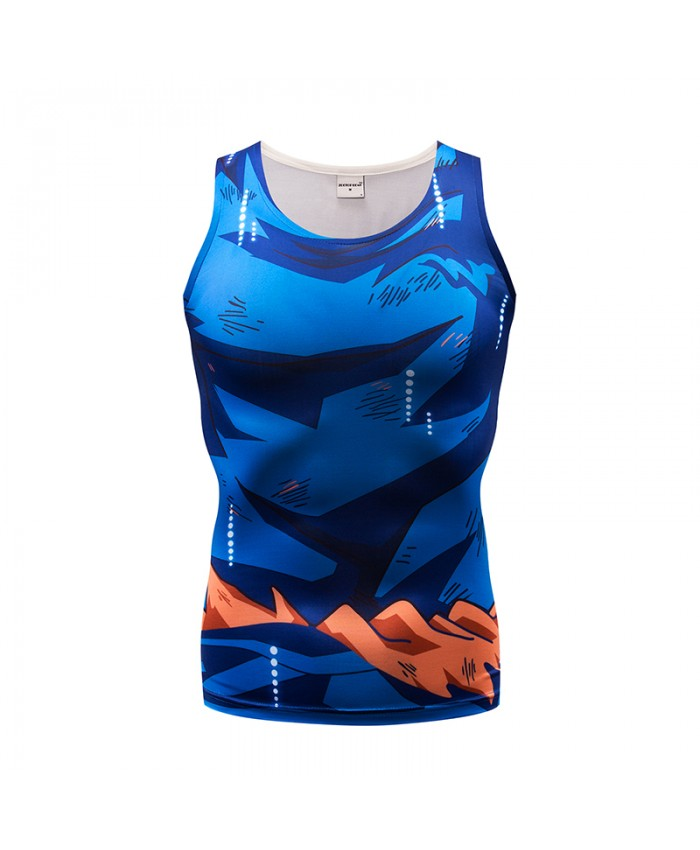 Women Tank Tops Men Vest Dragon Ball Male singlet Casual Tops&Tees Underwaist Fitness Bodybuilding Sleeveless Summer