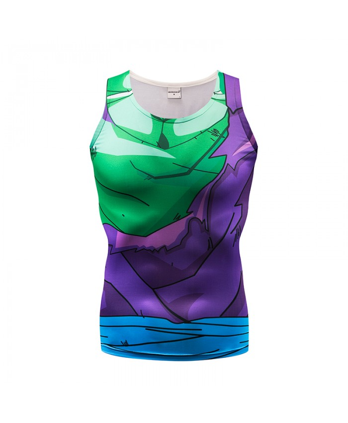 Women Tank Tops Men Vest Female Dragon Ball singlet Anime Tops&Tees Fitness Tight Sleeveless Summer Hit Color 2019