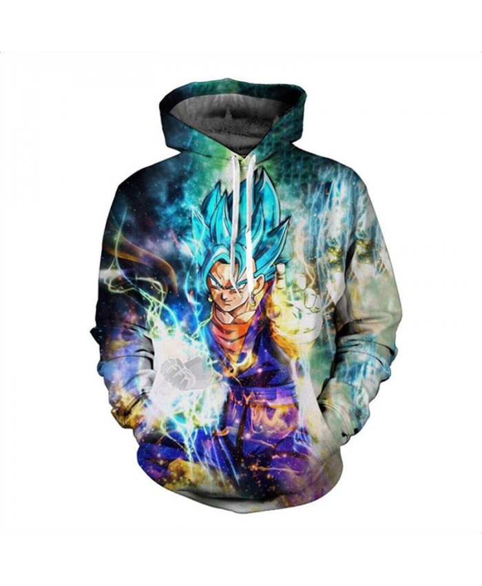 Wukong GOKU Full of power Hoodie Sweatshirt Men Women Long Sleeve Autumn Winter Hoody Tops Hombre Casual Dragon ball top