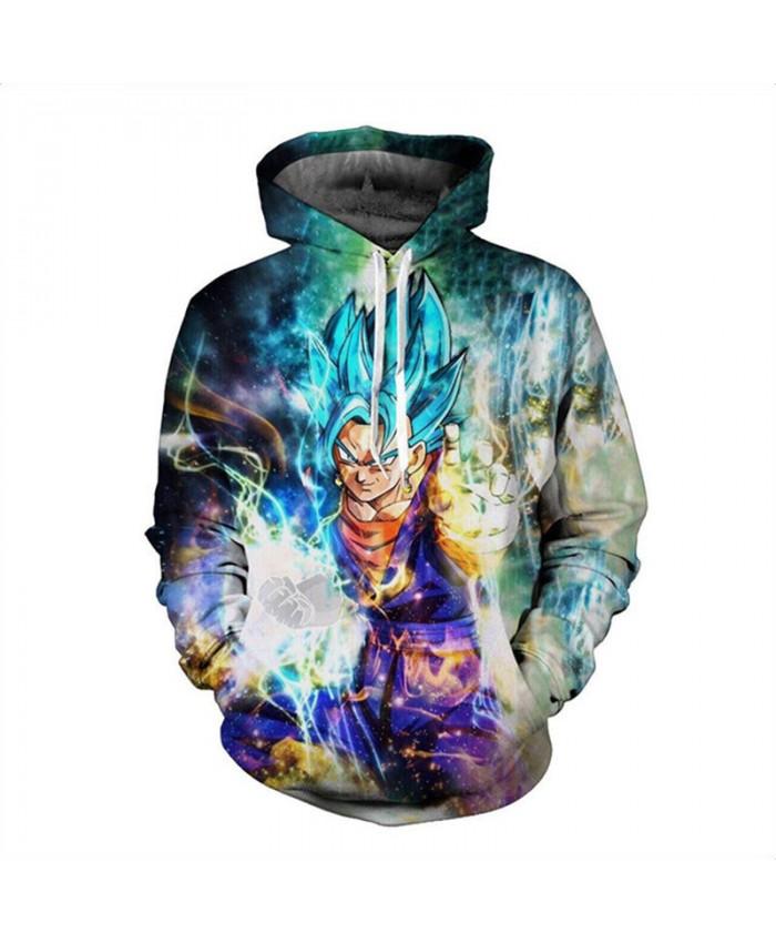 Wukong GOKU Full of power Hoodie Sweatshirt Men Women Long Sleeve Autumn Winter Hoody Tops Hombre Casual Dragon ball top