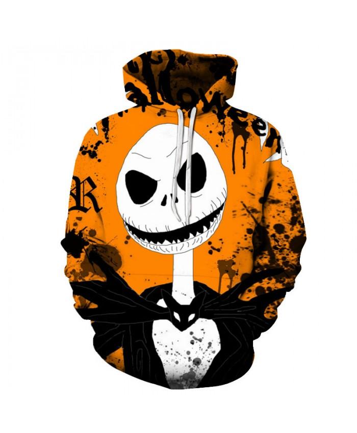Yellow Halloween 3D Hoodies Men Hoody Harajuku Hoodie Streatwear Sweatshirt Tracksuit Pullover Coat Hip Hop Dropship