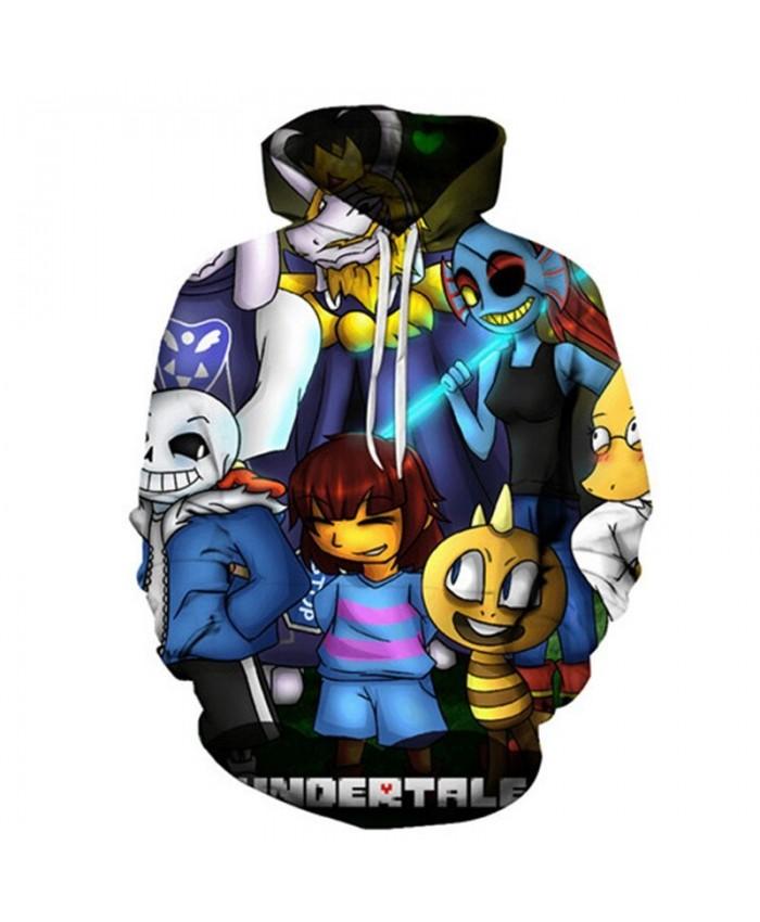 Yellow Worm undertale 3D Print Mens Pullover Sweatshirt Fashion Casual Quality Men Hoodies Custom Pullover Hoodie
