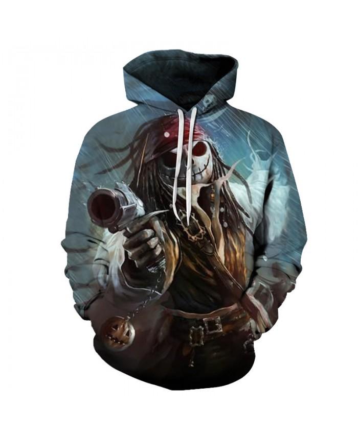 jack skellington 3D Hoodies Sweatshirt Men Women Hoodies Fashion Tracksuit Hooded Pullover Skull Printed Jackets Drop Ship Brand